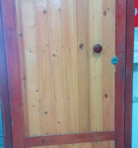 Дверь мет/вагонка