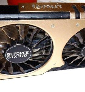 GTX 970 4 Gb Palit JetStream Рассмотрю обмен