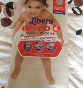 Трусики / подгузники Libero 6.
