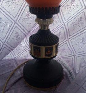 Ночник 1960+гибкий светильник-прищепка