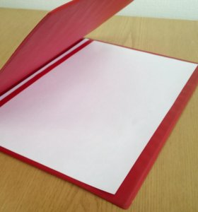 Папка для доклада А-4 Красная кожезам СССР 70-е