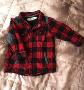 👶🏻❗️ Рубашка в клетку H&M