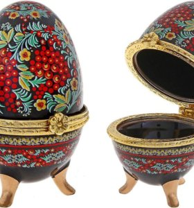 Шкатулки для украшений в форме яйца