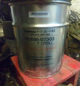 Трансмисионное масло Toyota ATF WS 20л 0888602303