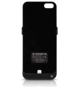 Чехол-аккумулятор для Apple iPhone 5/5S, черный
