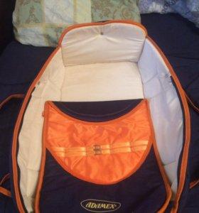 Детская переноска вмести с сумкой