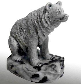 Статуэтки медведей из мраморной крошки