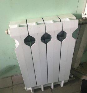 Батарея алюминивая