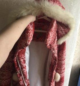Куртка пуховик на тёплую зиму