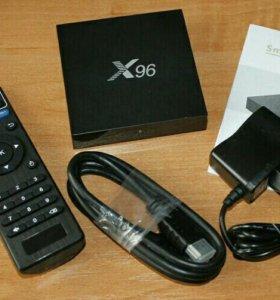 Приставка для телевизора TV Box Vontar X96