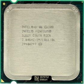 Intel Pentium Processor E6300 OEM