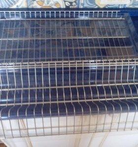 Новая металлическая сушка для посуды