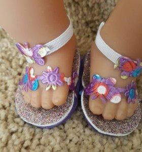 Обувь для куклы Беби Борн