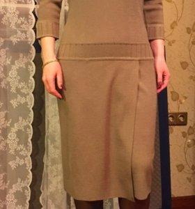 Платье, белорусский трикотаж, 42-44 размер