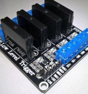 Модуль твердотельное реле arduino