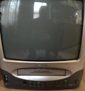 Телевизор с VHC плеером