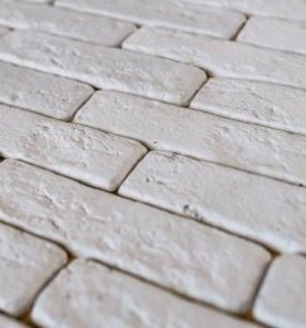 Декоративный камень, гипсовая плитка кирпич