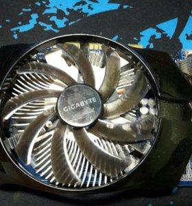 Видеокарта GIGABYTE GeForce GTX 650 [GV-N650OC-2GI