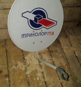 Спутниковая тарелка с конвертером