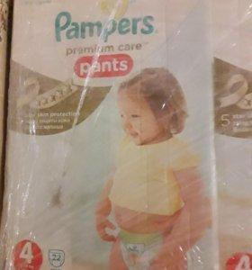 Трусики Pampers Premium Care Pants 4 размер, 22 шт