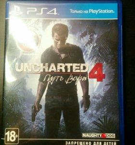 Игра Uncharted 4 путь вора PS4