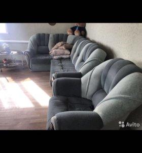 Диван и кресло для отдыха