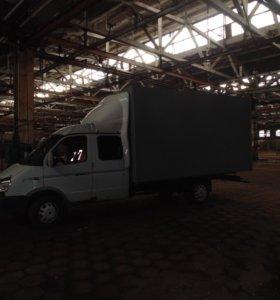 Грузоперевозки газель кузов 4 метра 6 метров