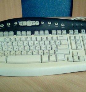 Клавиатура с медиа клавишами