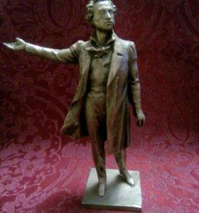Статуэтка Пушкин.Ск.Аникушин.Алюминий