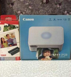 Сублимационный принтер Canon CP520
