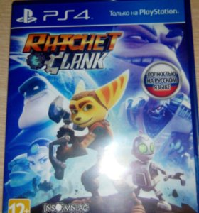 Игра на PS4 Ratchet Clank