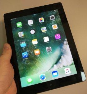 iPad 4, 64gb, black wi-fi+cellular (sim)