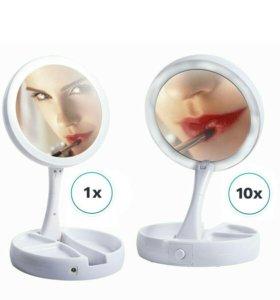 Зеркало для макияжа с подсветкой! НОВЫЙ!