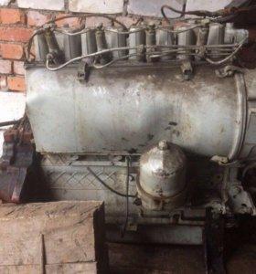 Двигатель т-40 в сборе