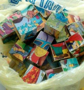 Кубики - пазлы