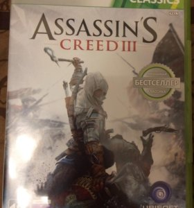 Assassins creed 3 на Xbox 360