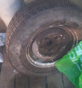 одно колесо
