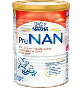 молочная смесь пре нан