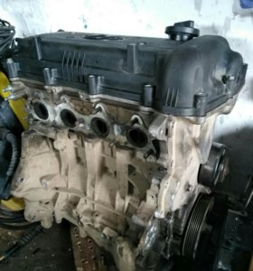 Двигатель Solaris 1.6 на запчасти