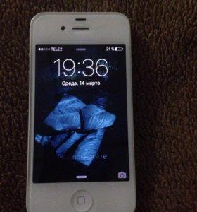 Продам айфон 4s (16Гб)