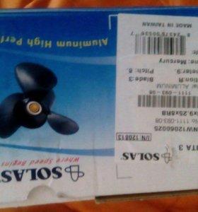 Продам гребной винт solas на mercury 9.9-15 л.с