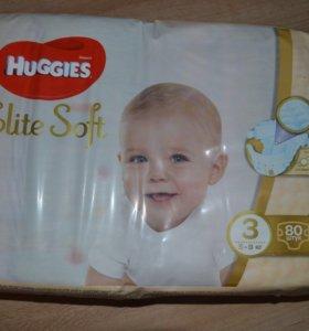 Подгузники Huggies Elite Soft