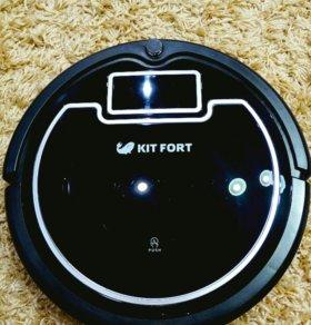 Пылесос-робот Kitfort KT-503 c влажной уборкой