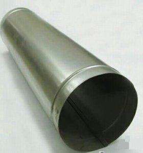 Труба оцинкованная и нержавеющая (разный диаметр)