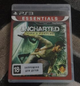Uncharted 1 Drake's fortune ps3