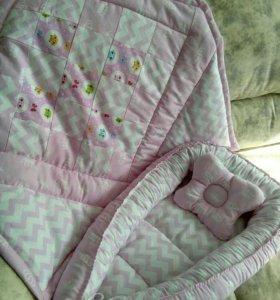 Подарочный набор для новорожденной девочки.