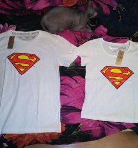 Одинаковые парные футболки новые