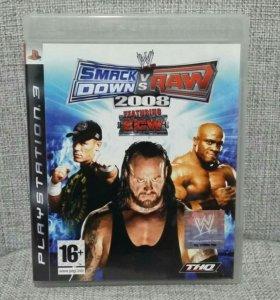 SmackDown vs. Raw 2008 для PS3