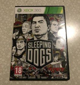 Игры на Xbox Диски на Xbox Sleeping Dogs