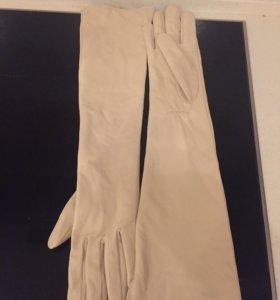Женские перчатки из натуральной кожи новые